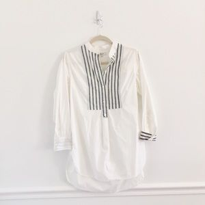 Madewell Morningshine Stripe Coverup Tunic